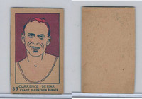 W512 Strip card, Famous People, 1926, #35 Clarence Demar, Runner (B)