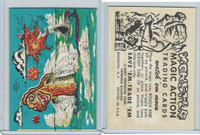 W510-2 Abbey, Monster Magic Action Trading Cards, 1963, (12)