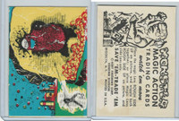 W510-2 Abbey, Monster Magic Action Trading Cards, 1963, (19)