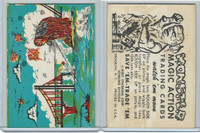 W510-2 Abbey, Monster Magic Action Trading Cards, 1963, (21)