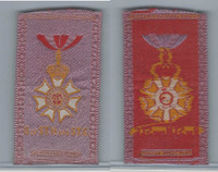 S17 ATC Silk, Military & Lodge Medals, 1910, O of S.T.M. & S.T.G.