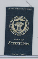 S90 American Tobacco Silk, City Seals, 1910, Schenectady