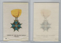 SC2 BAT Silk, Orders & Military Medals, 1910, #26 Black Eagle, Prussia