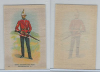 SC10 BAT Silk, Regimental Uniforms Canada, 1910, #11 53rd Sherbrooke
