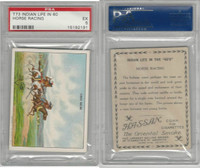 T73 Hassan, Indian Life, 1910, Horse Racing, PSA 5 EX