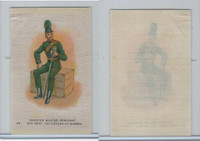 SC10 BAT Silk, Regimental Uniforms Canada, 1910, #23 Voltiguers De Quebec
