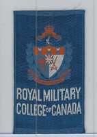 SC12 Canada Silk, Colleges & Universities, 1910, Royal Military (Blue)