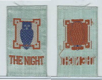 SC12 Canada Silk, Miscellaneous, 1910, The Night, Owl (Blue)