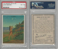 T73 Hassan, Indian Life, 1910, Love Making, PSA 4 VGEX