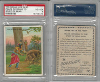 T73 Hassan, Indian Life, 1910, Peace Offering to Spirit of Bear, PSA 4 VGEX