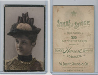 N131 Duke, Stars of The Stage, 3rd Series, 1890, Actresses (5)