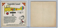 D142 Wonder Bread, Snoopy WWI Fighters, 1965, Sopwith Camel