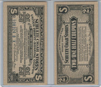 N Tobacco Coupon Certificate, Schulte Cigar Stores, New York (2 1/2)