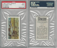 C0-0 Cadet Sweets, Stingray, 1965, #14 Stringray Pen, PSA 9 Mint