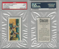 C0-0 Cadet Sweets, Stingray, 1965, #38 Monocopters, PSA 9 Mint