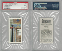 C0-0 Cadet Sweets, Stingray, 1965, #43 Tunnel Map, PSA 9 Mint