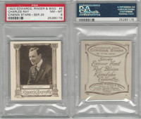 E14-32 Edwards, Cinema Stars, 1923, #6 Charles Ray, PSA 8 NMMT