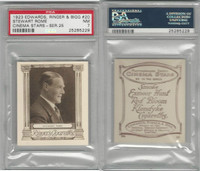 E14-32 Edwards, Cinema Stars, 1923, #20 Stewart Rome, PSA 7 NM