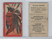 T74 Booker Tobacco, Indian Series, 1906, Opitchapon