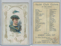 N140 Duke, Yacht Club Colors, 1890, Calshot Castle, Mabel Jordan