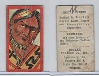 T74 Booker Tobacco, Indian Series, 1906, Tammany