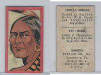 T74 Booker Tobacco, Indian Series, 1906, Tecumseh