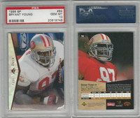 1995 Upper Deck SP Football, #94 Bryant Young, 49ers, PSA 10 Gem