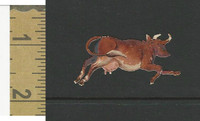Victorian Diecuts, 1890's, Animals, Cow (19)
