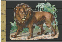 Victorian Diecuts, 1890's, Animals, Lion (20)