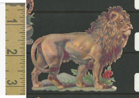 Victorian Diecuts, 1890's, Animals, Lion (25)