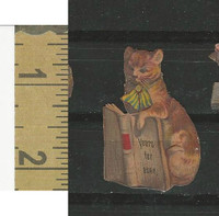 Victorian Diecuts, 1890's, Cats, Yours For Ever, Book (6)