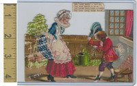 Victorian Diecuts, 1890's, Culture & People, (33) Nursery Rhyme
