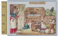 Victorian Diecuts, 1890's, Culture & People, (34) Nursery Rhyme