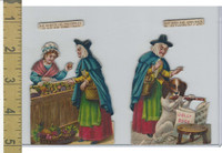 Victorian Diecuts, 1890's, Culture & People, (37) Nursery Rhyme