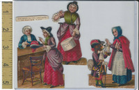 Victorian Diecuts, 1890's, Culture & People, (38) Nursery Rhyme