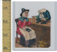 Victorian Diecuts, 1890's, Culture & People, (41) Nursery Rhyme