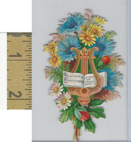 Victorian Diecuts, 1890's, Flowers, (106) Bouquet,  Friendship