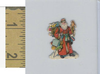 Victorian Diecuts & Cards, 1890's, Holidays, Christmas Santa Claus (9)