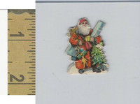 Victorian Diecuts & Cards, 1890's, Holidays, Christmas Santa Claus (10)