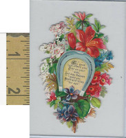 Victorian Diecuts, 1890's, Horses, Horseshoe, Flowers (20)