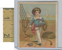 Victorian Diecuts & Cards, 1890's, Ships & Nautical, (22) Sailor Boy