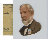 Victorian Diecuts, 1890's, US History, (12) Presidential Candidates, Blaine