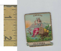 Victorian Diecuts, 1890's, US History, State Seals, California