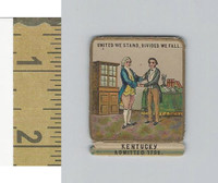 Victorian Diecuts, 1890's, US History, State Seals, Kentucky