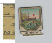 Victorian Diecuts, 1890's, US History, State Seals, New Hampshire