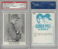 1965 Fleer, Gomer Pyle, #41 Gosh Did Your Momma Get, PSA 8 NMMT