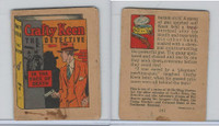R25 American Chicle, Thrilling Stories, 1930's, Crafty Keen, #4 Face Death