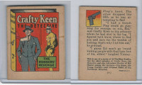 R25 American Chicle, Thrilling Stories, 1930's, Crafty Keen, #6 Robbers Revenge