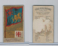 N10 Allen & Ginter, Flags of all Nations, 1890, Ionian Islands