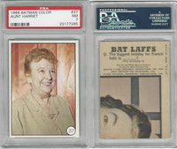 1966 Topps, Batman Color Photo, #37 Aunt Harriet, PSA 7 NM